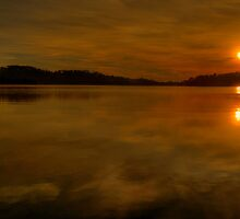 Sunrise Melody - Narrabeen Lakes,Sydney - The HDR Experience by Philip Johnson