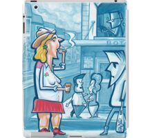 Incident at the Botany View - Observed iPad Case/Skin