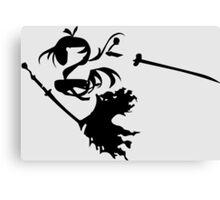 fairy tail erza scarlet titania anime manga shirt Canvas Print
