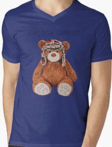 Gambino Bear Mens V-Neck T-Shirt