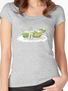 Toy Story: Zurg Strikes Back Women's Fitted Scoop T-Shirt