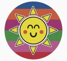 Hello Sunshine / Rainbow Background Kids Clothes