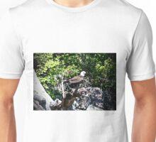 American Male Bald Eagle Unisex T-Shirt