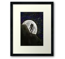 Beast at Full Moon Framed Print