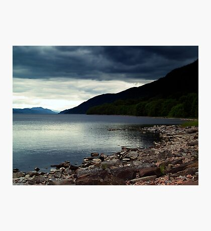 Overcast At Loch End, Scotland. Photographic Print
