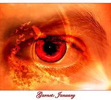January: Garnet by RavenRidgePhoto