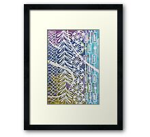 Seaweed & Wheels Framed Print