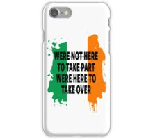 Conor Mcgregor Quote iPhone Case/Skin