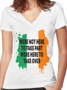 Conor Mcgregor Quote Women's Fitted V-Neck T-Shirt