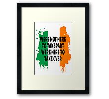 Conor Mcgregor Quote Framed Print
