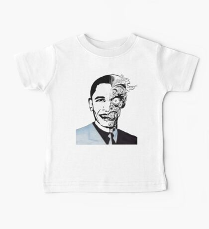 obama twoface Baby Tee