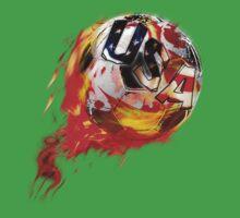 USA soccer World Cup One Piece - Short Sleeve