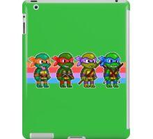 Teenage Mutant Ninja Turtles TMNT Pixel Stripes iPad Case/Skin