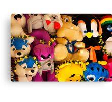 Fluffy Toys Canvas Print