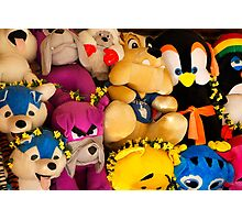 Fluffy Toys Photographic Print