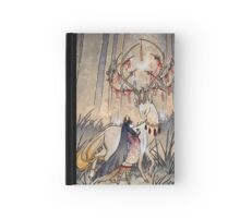 The Wish - Kitsune Fox Deer Yokai Hardcover Journal