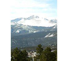 colorado mountain view Photographic Print