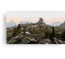 Whiterun Hold Canvas Print
