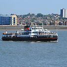 Ferry across the Mersey by Alan Gillam