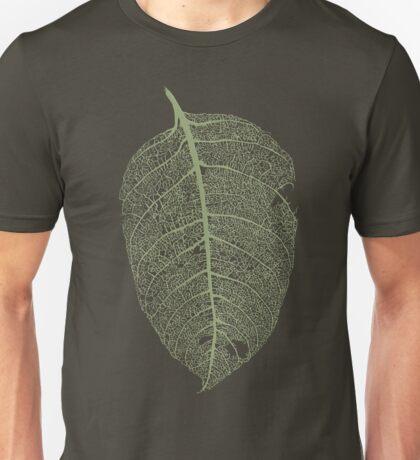 Leaf skeleton Unisex T-Shirt