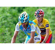 Contador V's Brajkovic Photographic Print
