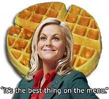 Leslie Knope Loves Waffles by WillLivingston