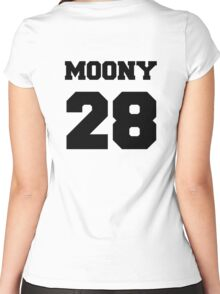"""The Marauders -- Remus """"Moony"""" Lupin Women's Fitted Scoop T-Shirt"""
