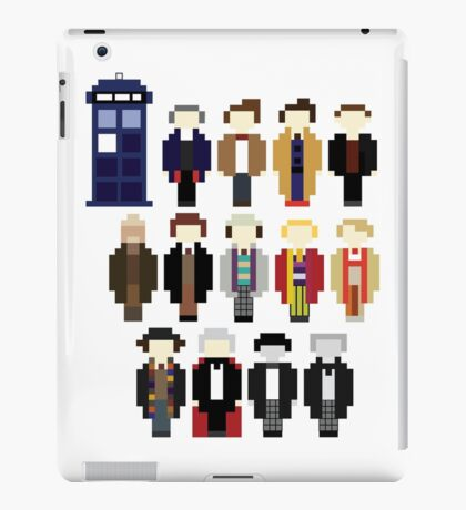 Pixel Doctor Who Regenerations iPad Case/Skin