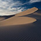 Sunset over Eureka Dunes, Death Valley by Rick Ferens