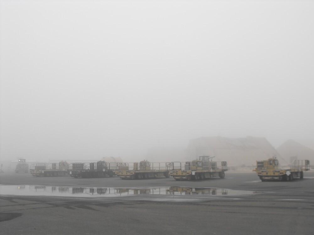 K-Loaders in the Mist by Howard Lorenz