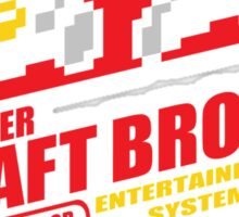 Super Daft Bros. Sticker