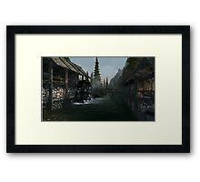 Riverwood Mill Framed Print