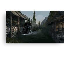 Riverwood Mill Canvas Print