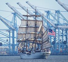 USCG Tall Ship Eagle by photroen