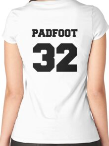 "The Marauders -- Sirius ""Padfoot"" Black Women's Fitted Scoop T-Shirt"