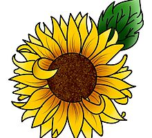 sunflower by Janine Rajauski