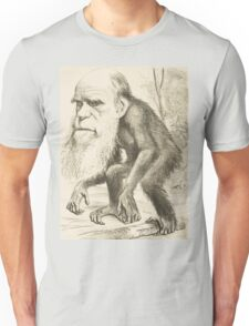 DARWIN:   The Monkey's Uncle! Unisex T-Shirt