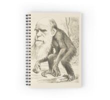 DARWIN:   The Monkey's Uncle! Spiral Notebook
