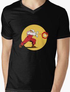 Super Plumber Mens V-Neck T-Shirt