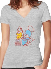 Fried Twinkees! Women's Fitted V-Neck T-Shirt