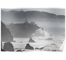 Against the Misty Pacific Poster