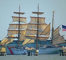 USCG Tall Ship Eagle - II by photroen