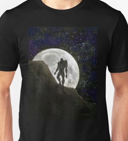Beast at Full Moon Unisex T-Shirt