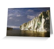 Iceberg at Cape Roget: Sunset & Sunrise All in One Greeting Card
