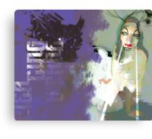 Piercing Stare Canvas Print