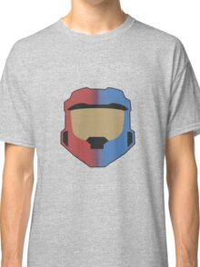 Red vs Blue Poster Classic T-Shirt