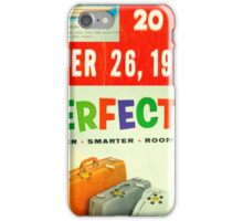 Collage of 1950's Life Magazine iPhone Case/Skin