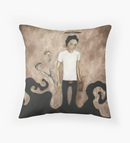 Aimless Wanderer  Throw Pillow