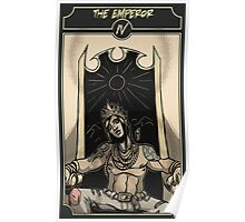 The Emperor - Sinking Wasteland Tarot Poster