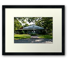 Community House 2 Framed Print